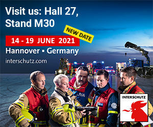 INTERSCHUTZ 2020 Banner